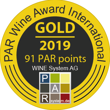 Gold award for Aspri Gi at PAR Wine Award International 2019